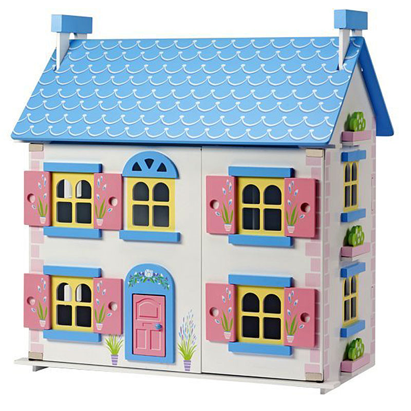 Wooden Cottage Doll's House Childrens Playhome
