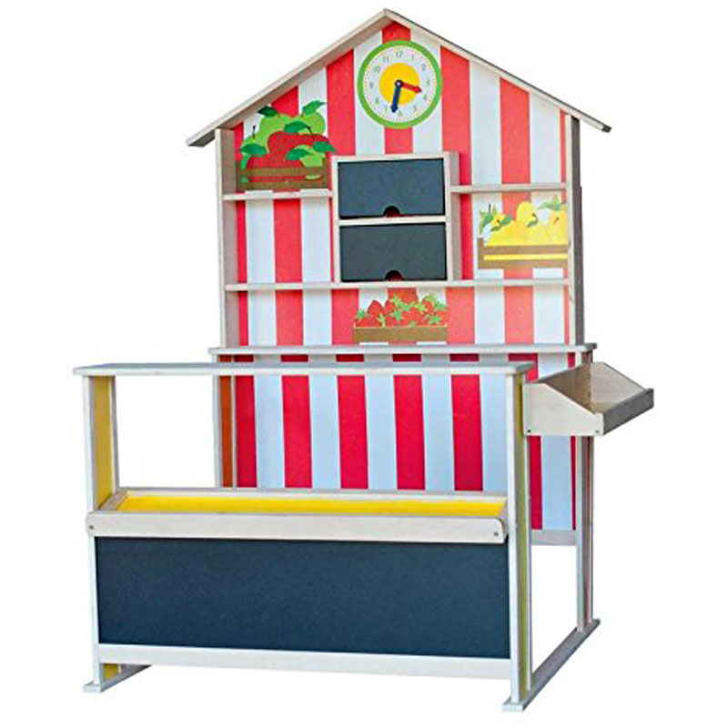 Woodyland Wooden Play Shop - Toy Wooden Shop